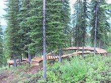 Kicking Horse Bike Park Trail Crew Update #3