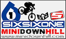 661 MINI DOWNHILL RACE - Forest of Dean - Gloucestershire England.