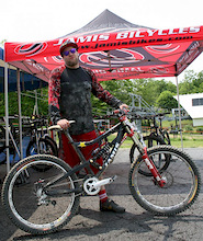 US Open - Jordie Lunn - Bike Check