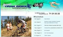 Crankworx Whistler 2009 rider invite list.
