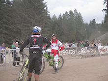 Kyle Strait wins Dual Slalom at Kokanee Crankworx 2009