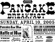 Mt. Wilson Bicycling Association's Annual Pancake Breakfast this sunday.