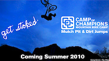 Camp of Champions adds a Mulch Pit and Dirt Jumps