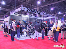 Turner at Interbike