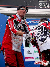Rennie Podiums at the world cup downhill in Willingen, Germany