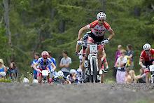 UCI World Championships Mont Saint Anne - Geoff Kabush and Clara Hughes