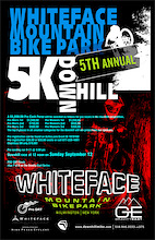 Whiteface Mountain 5th Annual 5K Downhill Race