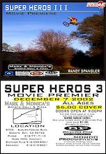 Superheros III Premiere - Sacramento California