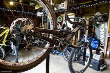 Diamondback's Prototype DH Race Bike
