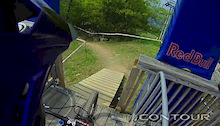 Gee Atherton US Open Course Run - Video