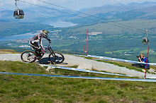 Team Maxxis-Rocky Mountain at Fort William DH