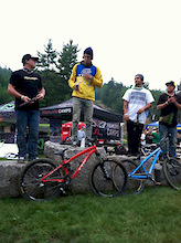 Brandon Semenuk wins the 2011 Claymore Challenge!