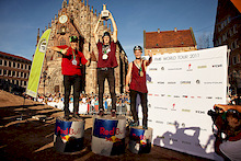 Sam Pilgrim: First European ever on the FMB World Tour podium