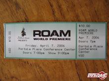 ROAM Tour Shedule 2006: Canada and USA