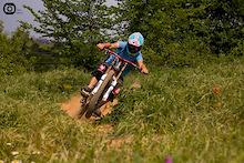 Joan Rodriguez riding in Solsona