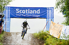 Results: Fort William Women's DH Finals - UCI World Cup 2012