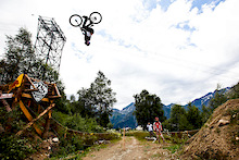2012 Crankworx Les 2 Alpes - IXS Slopestyle/Teva Best Trick Finals Videos