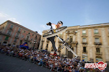 Red Bull District Ride 2006 in Catania, Italy-Paul Basagoitia takes the big win!
