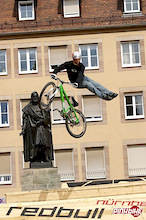 Red Bull District Ride in Nuremberg, Germany – 1st qualifying