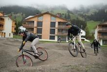Video: Tour de Pump in Parpan, Switzerland