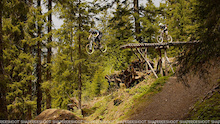 Video: Pre-opening Bikepark Châtel - France