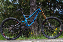 Aaron Gwin's Prototype Demo Race Bike - Andorra World Cup