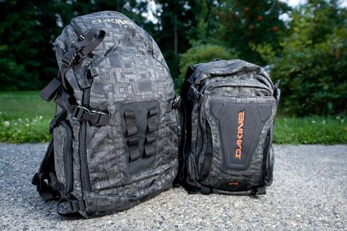 Dakine Apex and Sequence backpacks from a photographer's ...