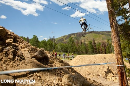 Steve Wentz bar humping for Sol Vista Bike Park