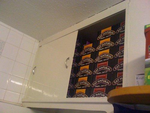 My cuboard of 520 eat natural bars