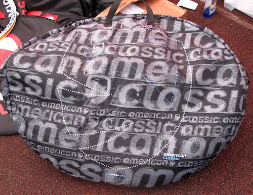 American classic monster wheel bag